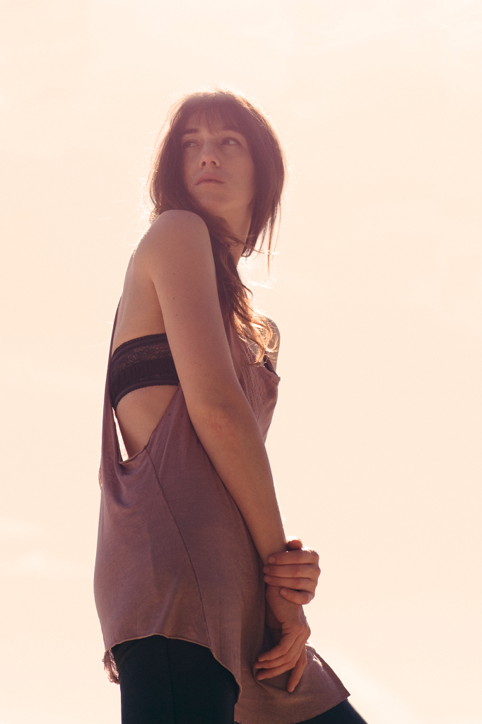 Charlotte Gainsbourg by Clarke Tolton for Nylon Magazine (January 2010)