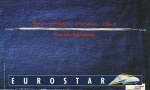 Charlotte Gainsbourg publicité pour Eurostar