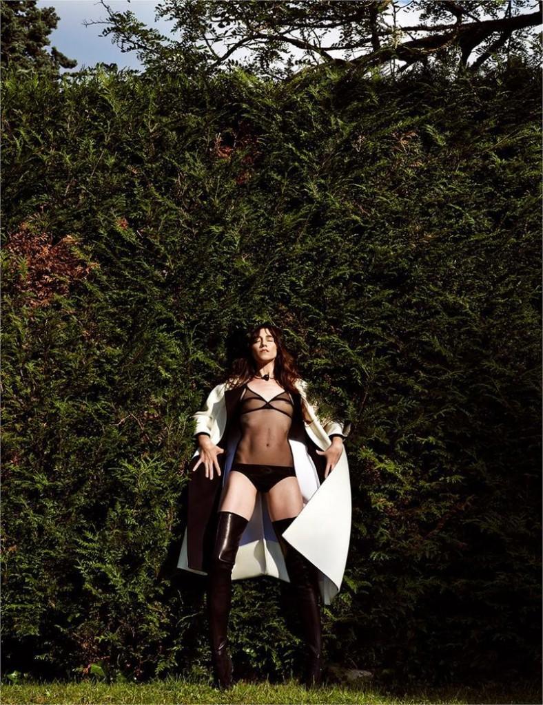 Charlotte Gainsbourg par Driu & Tiago pour Interview Magazine Russia, Septembre 2013