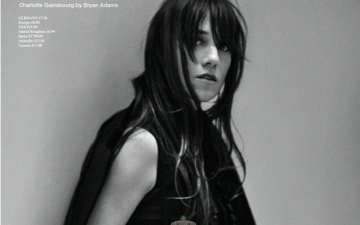 Charlotte Gainsbourg en couverture de Zoo Magazine (#40, Fall 2013 Issue)
