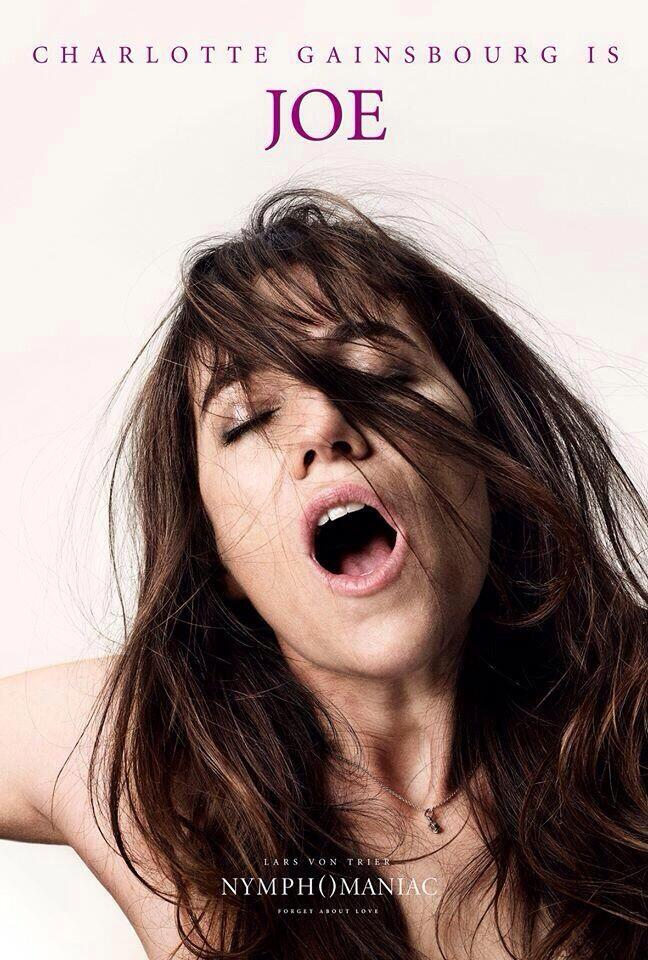 Charlotte Gainsbourg Affiche Nymphomaniac