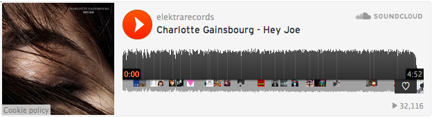 Charlotte Gainsbourg-Beck-Hey-Joe-Pitchfork