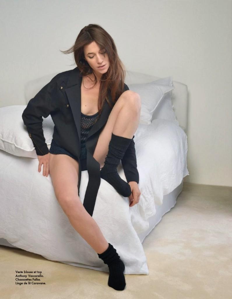 Charlotte Gainsbourg par Kate Barry