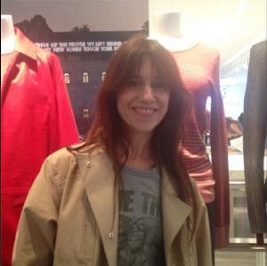 Lancement de la collection Charlotte Gainsbourg x Current Elliott chez Colette le 30 juin 2014 par @colette sur Instagram