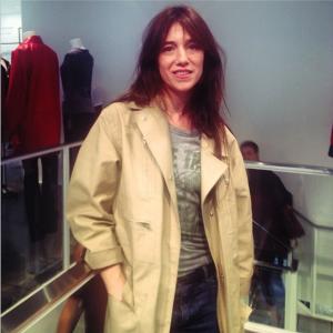 Lancement de la collection Charlotte Gainsbourg x Current Elliott chez Colette le 30 juin 2014 par @ellefr sur Instagram