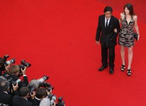 """Charlotte Gainsbourg et Yvan Attal à la première de """"Coco Chanel & Igor Stravinsky"""" au 62ème festival de Cannes le 24 mai 2009. Photo de Kristian Dowling/Getty Images Europe"""