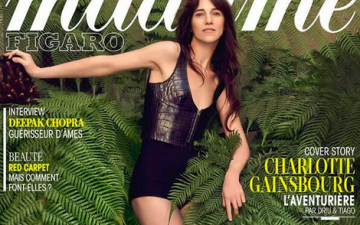Charlotte Gainsbourg, toujours à l'aventure (Madame Figaro)