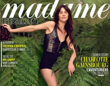 Charlotte Gainsbourg - Photo Driu & Tiago pour Madame Figaro - Mai 2014
