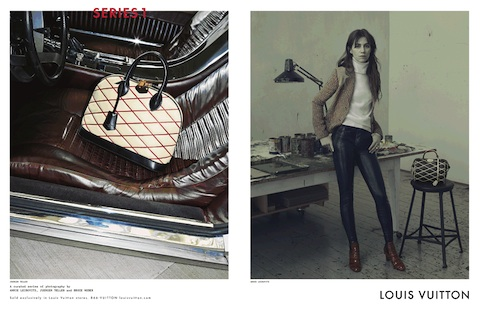 Charlotte Gainsbourg by Annie Leibovitz for Louis Vuitton (2014)