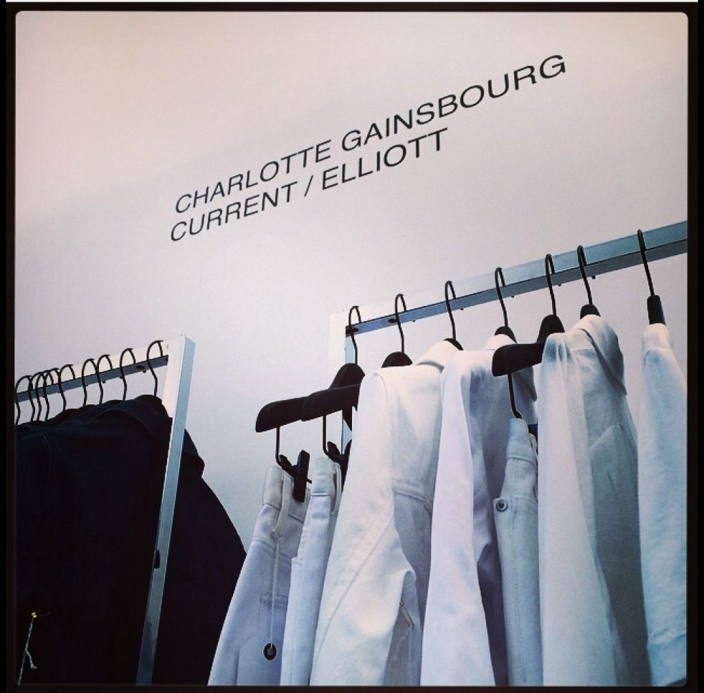 Charlotte Gainsbourg x Current Elliott 2015