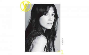 Charlotte Gainsbourg en couverture de « The Look » de Louis Vuitton