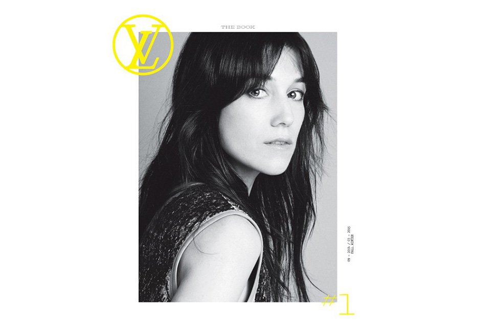 the Book Louis Vuitton Charlotte Gainsbourg
