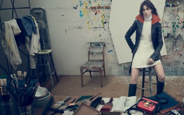 Charlotte Gainsbourg, nouvelle égérie de Louis Vuitton