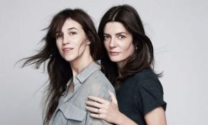Charlotte Gainsbourg et Chiara Mastroianni à coeurs ouverts (L'Express Styles)