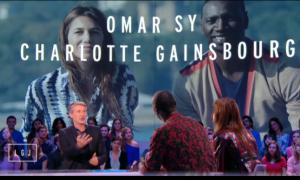 Charlotte Gainsbourg et Omar Sy au Grand Journal le 13 Octobre 2014 pour Samba