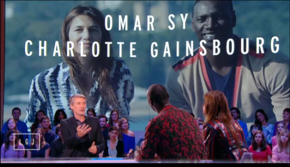 grand journal canal+ charlotte gainsbourg omar sy