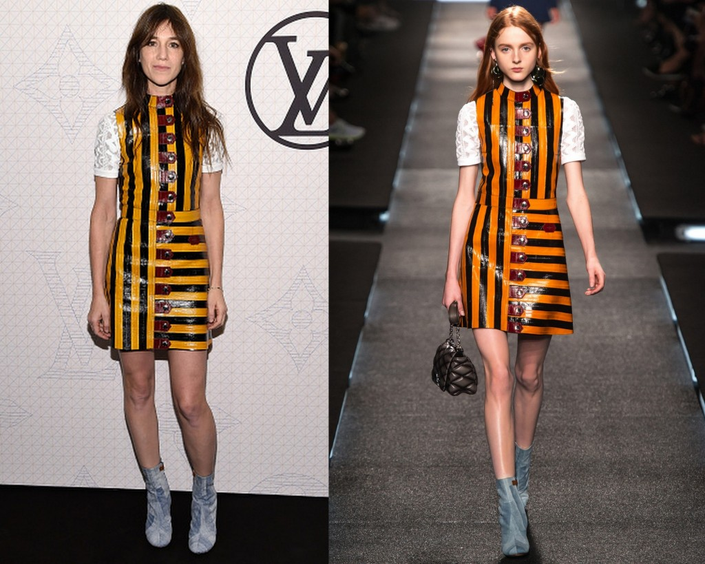 Charlotte Gainsbourg Louis Vuitton Spring 2015