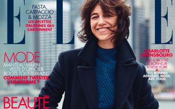 Charlotte Gainsbourg : «Je suis souvent seule avec les enfants» (Elle Magazine)