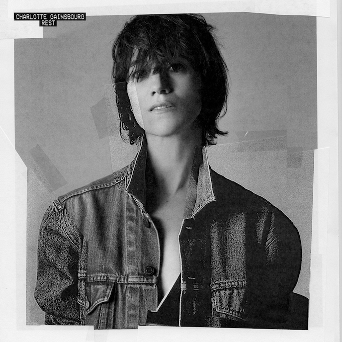 Charlotte Gainsbourg REST cover album