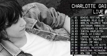 Tournée 2018 de Charlotte Gainsbourg